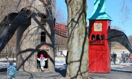 Lekplats för små barn