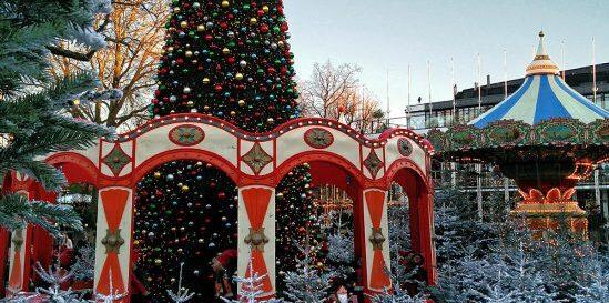 Julmarknad i Köpenhamn 2021